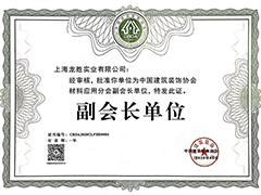 2020中国建筑装饰协会材料应用分会副会长