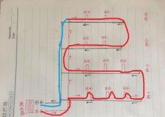 比较清晰的多层热水回水原理图,只要一看就能明白